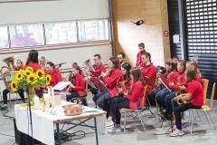 Feldgottesdienst 29.8.21: Jungmusik Kriessern.