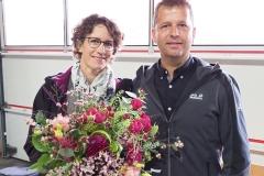 Feldgottesdienst 29.8.21: die Gastgeber Carmen und Heinz Nüesch.