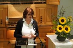 Hospiz-Rheintal-Leiterin Erika Ulmann berichtete aus ihrer Tätigkeit.