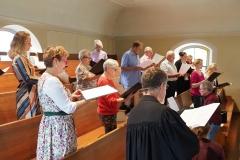 Der Kirchenchor Diepoldsau