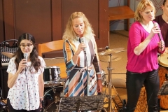 Crossoverband, die Sängerinnen (von links): Ruth Eggenberger, Liane Weiss und Aniela Brockmann