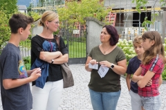 Einweihung des Gemeindebaums, Sonntag, 23. August 2020, evang. Kirche Diepoldsau
