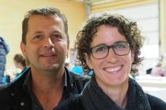 Grosszügige Gastgeber: Heinz und Carmen Nüesch - Feldgottesdienst vom 30. August 2020