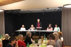 Der Vorstand des Frauenvereins, von links: Annemarie Köppel (Kassierin), Nadja Dennler (Aktuarin), Irma Kehl (Präsidentin), Martina Lüchinger (Kontaktperson Kirchgemeinde), Andrea Spirig (Einkauf).