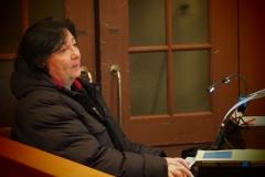 Bereitet dem Ganzen einen musikalischen Boden: Kirchenmusikerin Karin Fend
