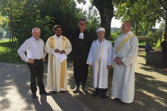 Interreligiöses Gebet in Diepoldsau, 14. September 2019