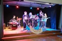 ... und auf der Bühne des Kirchgemeindehauses