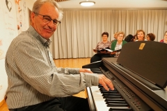 Evang. Kirchenchor Diepoldsau mit Dirigent Klaus Roggors, 30. Oktober 2019