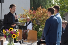 Konfirmation der Widnauer und Kriessner Jugendlichen vom Sonntag, 20. September 2020, evangelische Kirche Diepoldsau