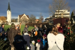 Ökumenischer Krabbelgottesdienst in Diepoldsau, 17. Dezember 2019