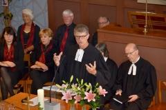Pfarrer Andreas Brändle; rechts: Pfr. Ronald Kasper. Bild: Monika von der Linden