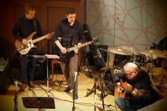 Von links: Beni Krause, Bass; Philipp Keller, E-Gitarre, Thomas Ruez, Gitarre