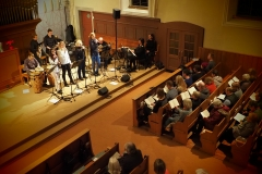 Singgottesdienst mit Crossover-Band vom 14. Dezember 2019, evang Kirche Diepoldsau