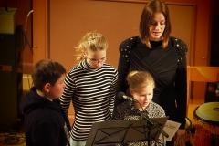 Kindertrio (Gesang) mit Nina Laubenthal (Sopran solo)